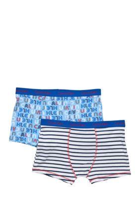 Calvin Klein Assorted 2-Pack Trunk Underwear Boys 4-20