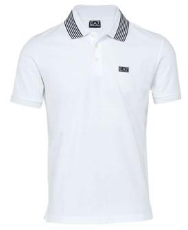 Armani EA7 SS11 Plain Pique Polo Shirt White | Cheeky Wish List | Wedding and Birthday Gift Ideas for Men and Women