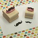 Movember - Conjunto de mini sellos con bigotes