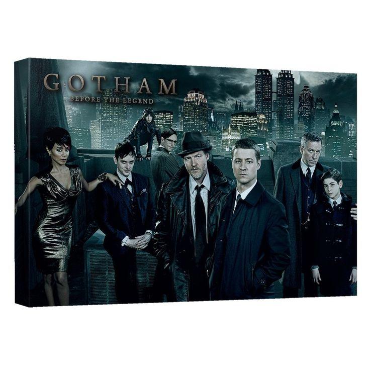 Gotham Gotham Cast Canvas Wall Art