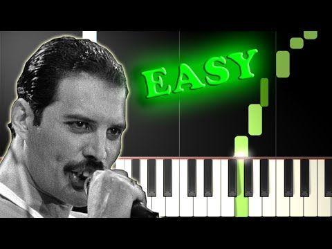 Bohemian Rhapsody - Queen [Easy Piano Tutorial] (Synthesia