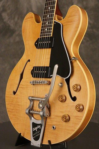 Gibson ES-330 TDN VOS Figured w/Bigsby MINT 2017 Dark Vintage   Reverb