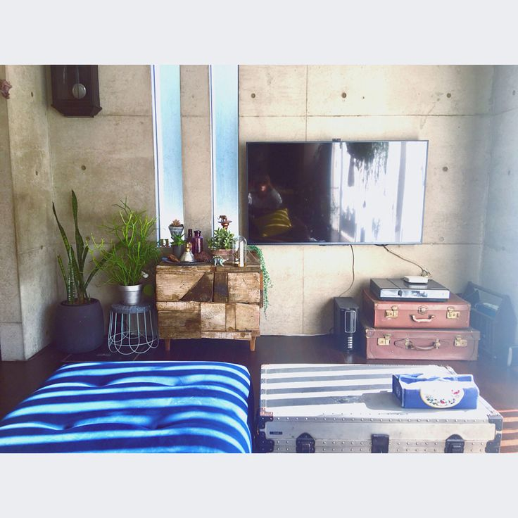 植物/古時計/IKEA/植物のある暮らし/中古を買ってリノベーション/中古住宅…などのインテリア実例 - 2017-10-31 09:50:56   RoomClip(ルームクリップ)