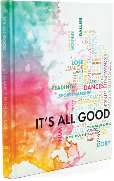 Book Cover Watercolor Ideas : Best yearbook theme ideas on pinterest