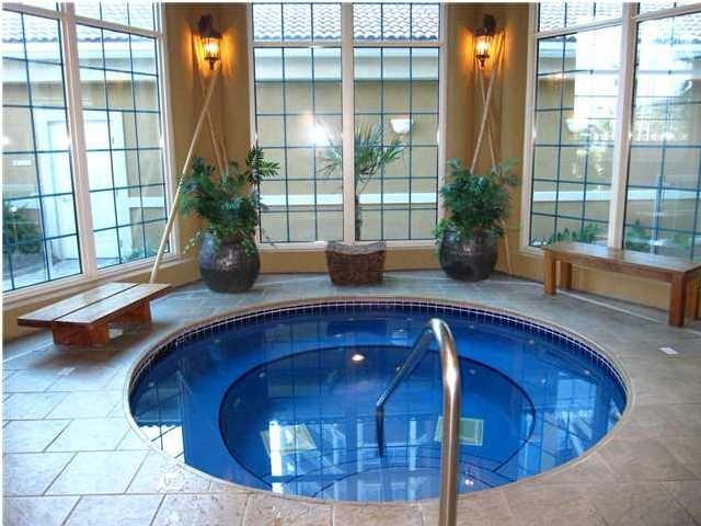 28 best indoor hot tubs images on pinterest indoor hot for Indoor bathroom hot tubs