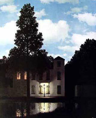 L'empire des lumières - René Magritte (1898-1967)