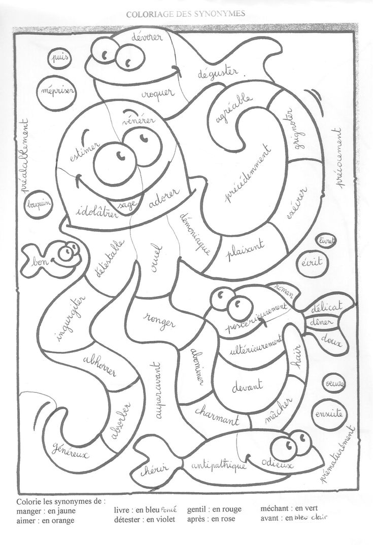 Coloriage Magique Cp  colorier Dessin  imprimer
