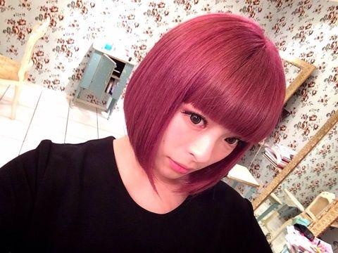 日本の人気芸能人から学ぶ!女性の憧れピンク系ヘアカラー♡   美人部