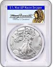 2017-W $1 Silver Eagle PCGS SP70 First Strike Thomas Cleveland Chief POP 150 Top Seller #firsteagle #silverchief #thomassilver