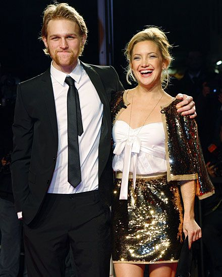 Wyatt Russell and Kate Hudson - children of Goldie Hawn and Kurt Russell