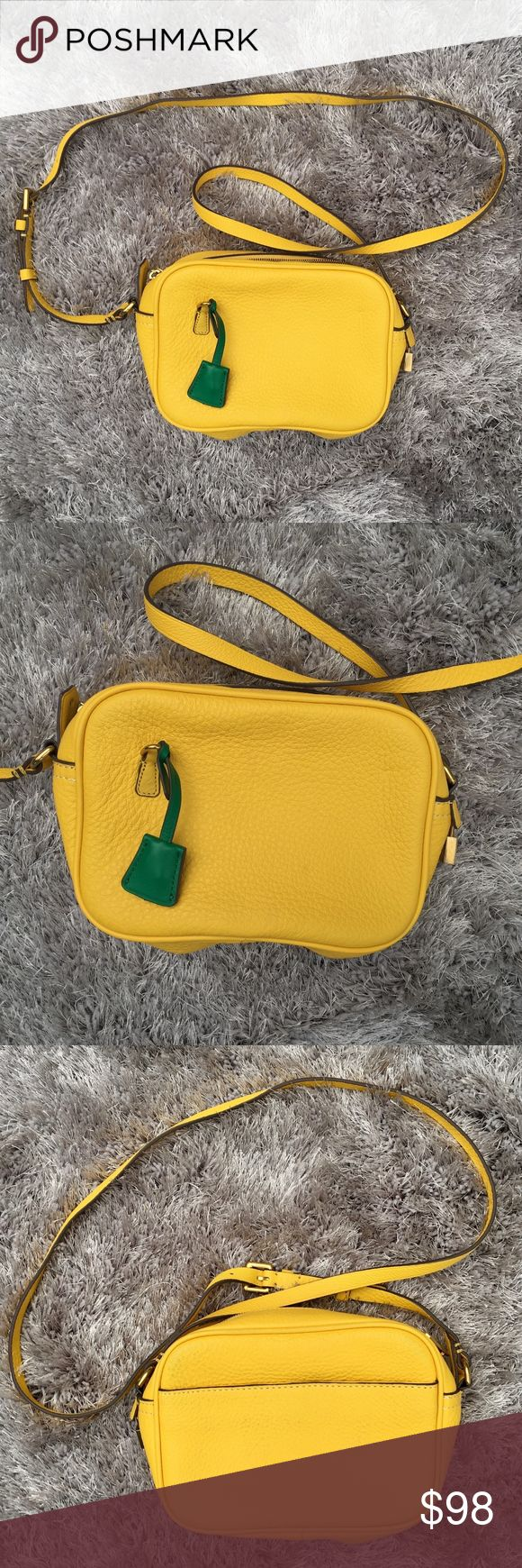 """J. Crew Signet Bag in Italian Leather Beautiful Signet Bag by J. Crew Genuine Italian leather Zipper closure Inside pocket Key fob & lock 6 1/4"""" H x 8 1/2"""" W x 3"""" D 24"""" adjustable strap  Brand new without tags, never used J. Crew Bags Crossbody Bags"""