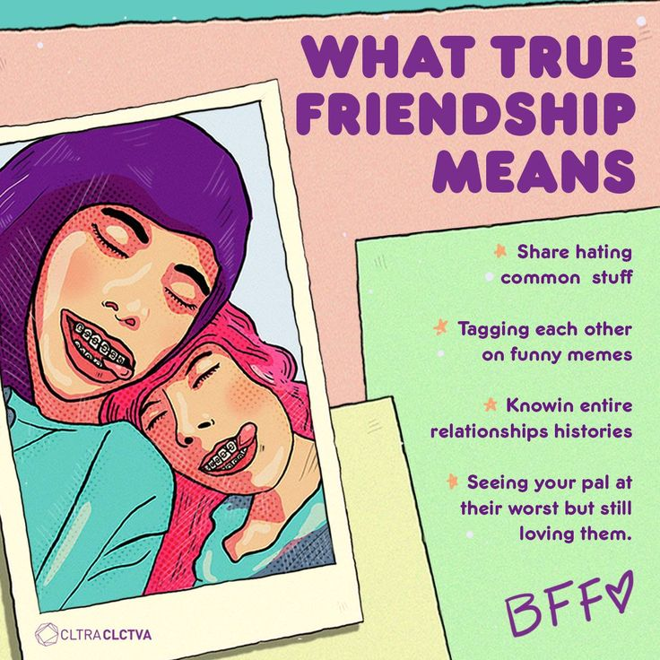 What's friendship for you?