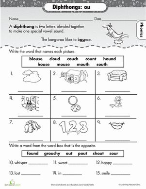 17 Best images about Phonics Worksheets on Pinterest | Spelling ...