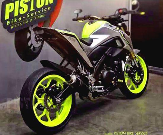 Foto Yamaha Xabre Modif Sport