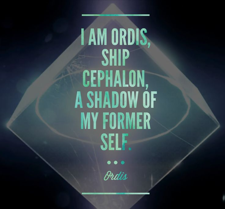 Ordis Warframe Game Quote
