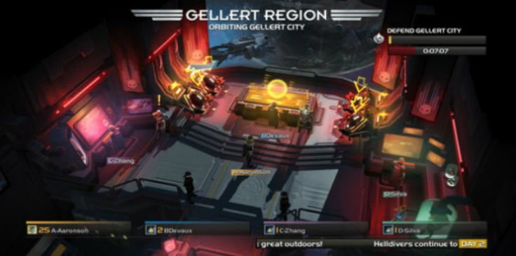 """""""Helldivers"""" Coming to Steam in December Game data, Twin"""
