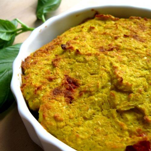 Chileense maispastei. Elke week een lekker gemakkelijk plantaardig recept. Dat is Donderdag Veggiedag.