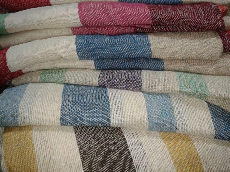 Tejidos de verano media estaci n tejidos en telar lana y - Tejidos para sofas ...