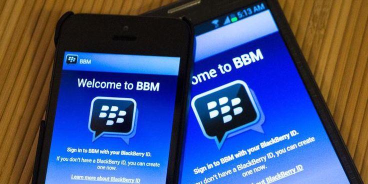 Aplikasi BBM di Android dan iPhone
