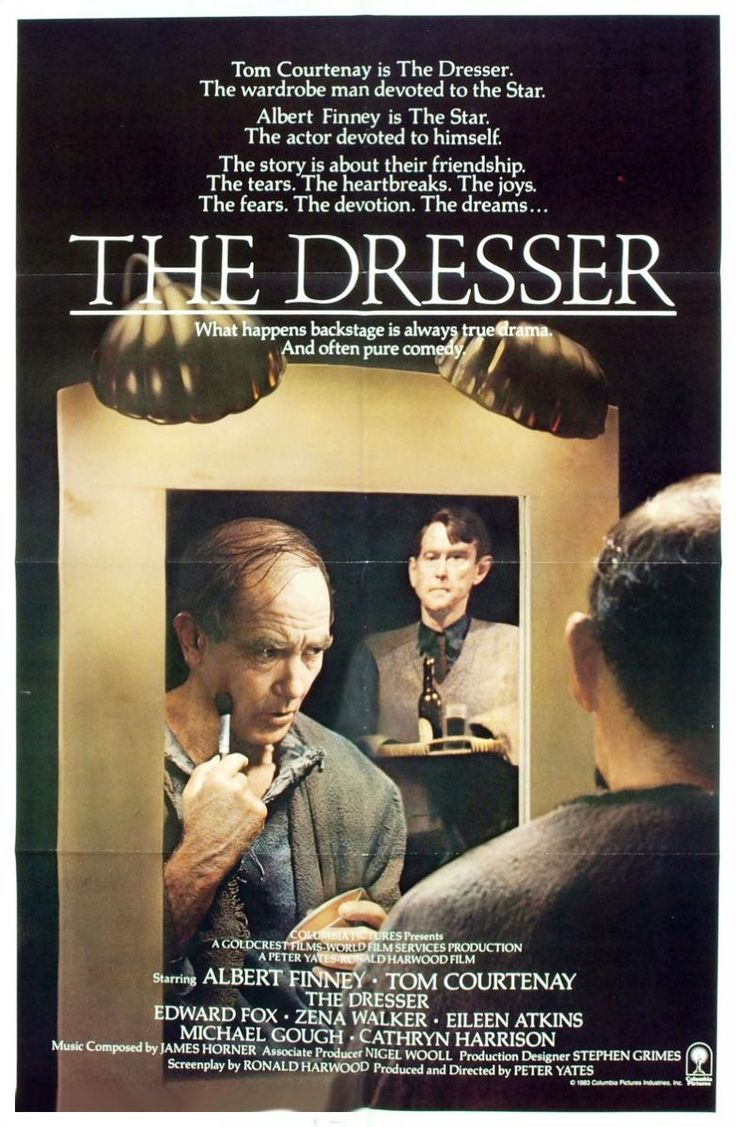 The Dresser. 1983. Directed by Peter Yates. | My Favorite ...