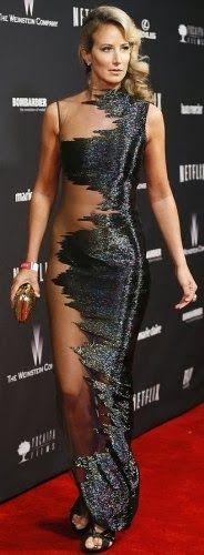 Lady Victoria Hervey in Gaurav Gupta at The Weinstein Company & Netflix's 2014 Golden Globes After Party