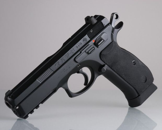 CZ 75 SP-01 - Best 9MM Pistols in the World