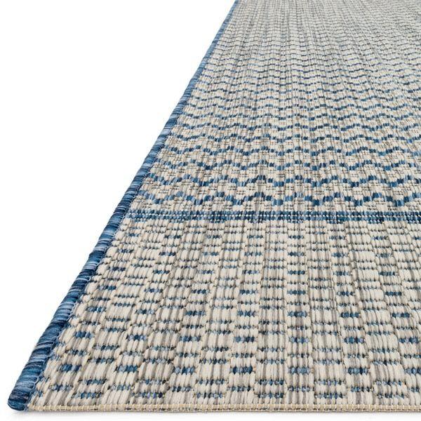 Indoor/ Outdoor Havannah Chevron Rug (7'10 X 10'9)