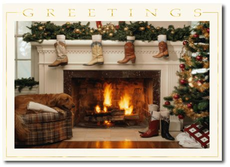 Country Western Christmas-Holiday Cards-Hyegraph