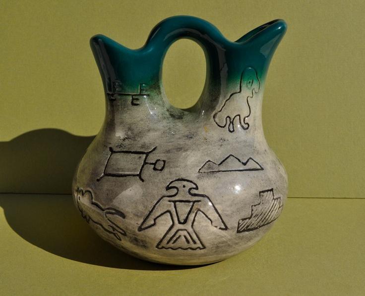 Vintage Native American Wedding Vase Native Americans Pinterest
