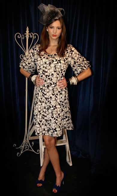Tea Party Dress - Safety Pins
