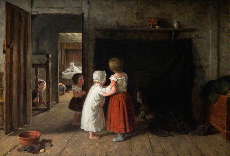 """The Chimney Sweep"", Frederick Daniel Hardy, 1866; Wolverhampton OP343"