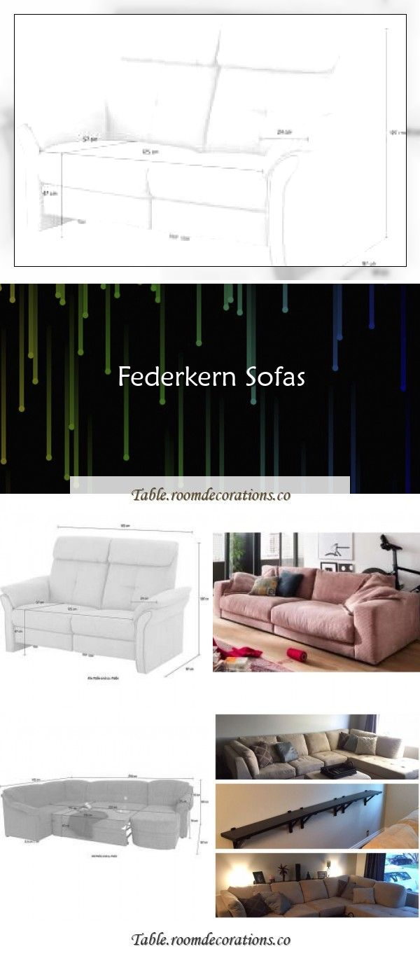 Federkern Sofas In 2020 With Images Living Room Table Sofa
