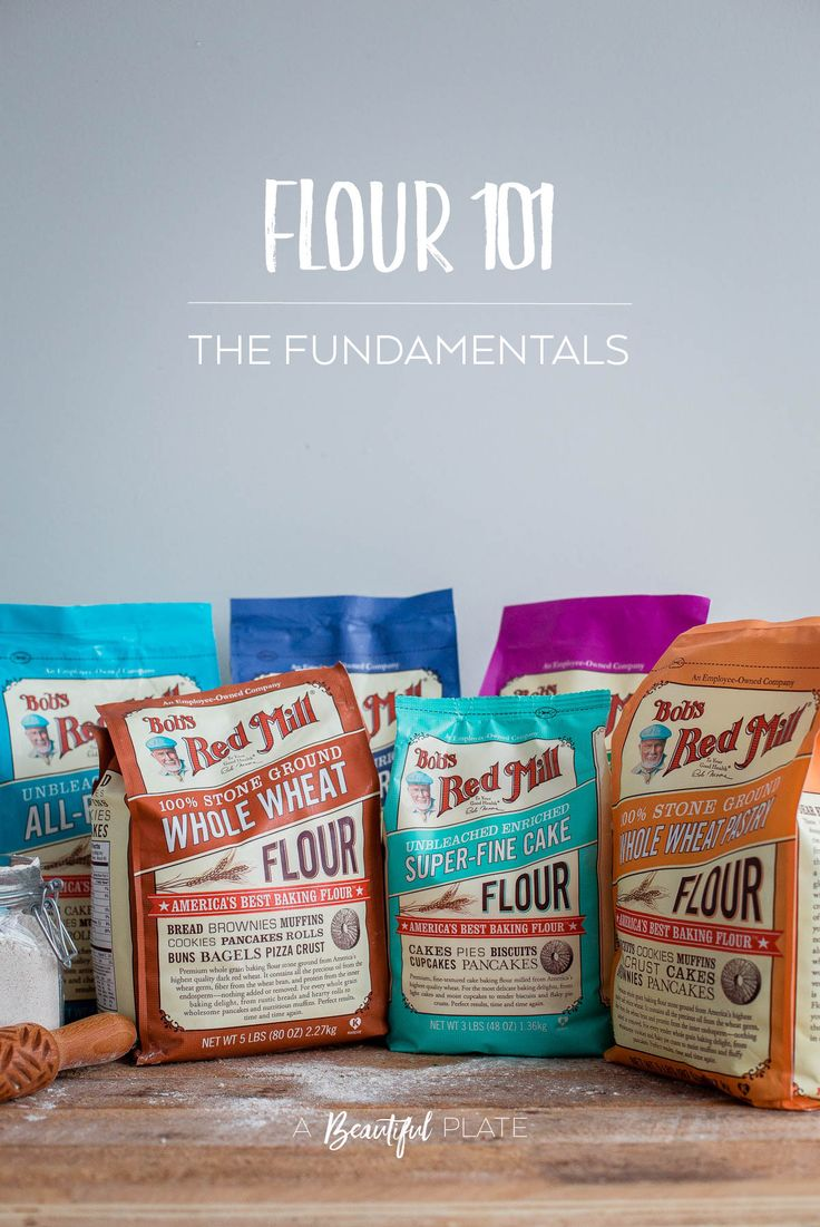 Different Types of Flour for Baking and the Fundamental Differences Between Them. An incredibly helpful baking reference post!