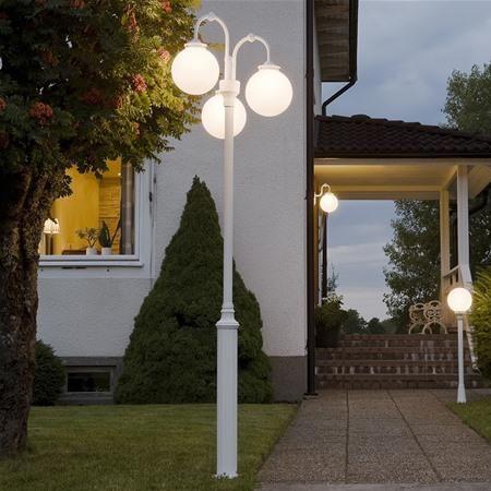 Konstsmide 553-252 Arcturus Aluminium Garden Post Light