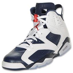 air jordan retro 6 mens basketball shoe