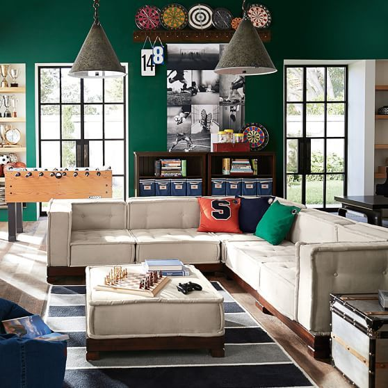 Boys Game / Media Room - Cushy Lounge Collection