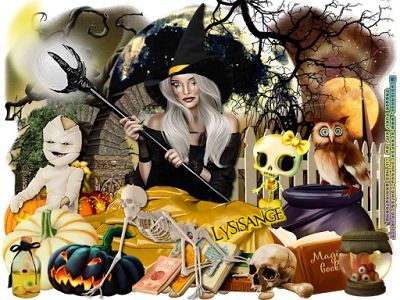 """Scraps N Company: """"""""Scary Witch"""""""""""