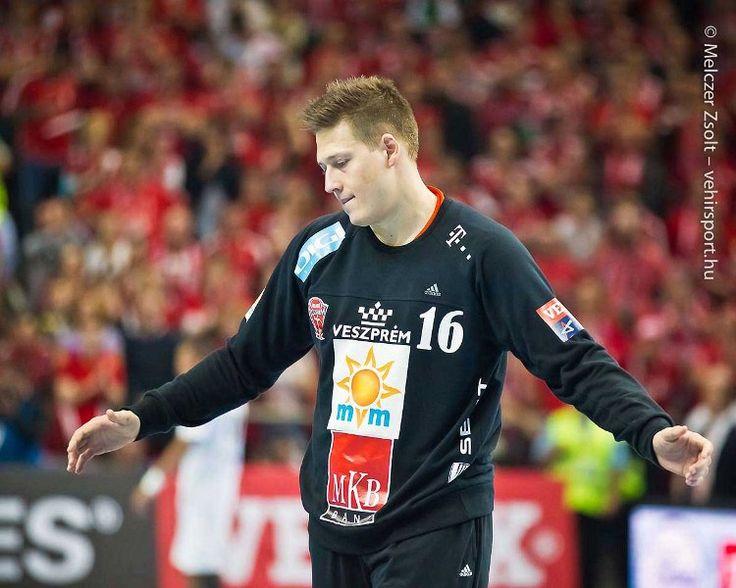 the real hero Roland Mikler , goalkeeper, handball, Hungary, MKB Veszprém , 16, brilliant, talented, young, amazing guy  photo: Zsolt Melczer