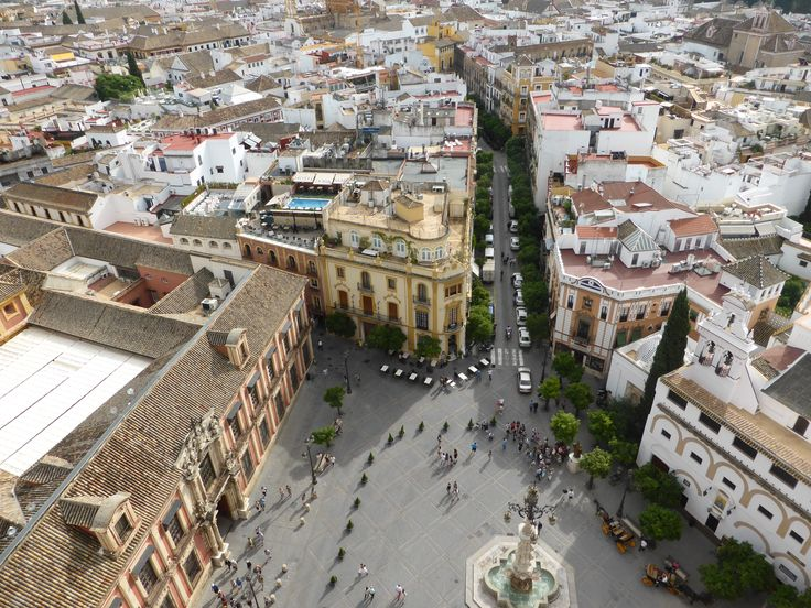 Sevilla - view from Cathedral tower