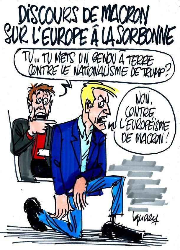 Ignace - Discours de Macron à la Sorbonne