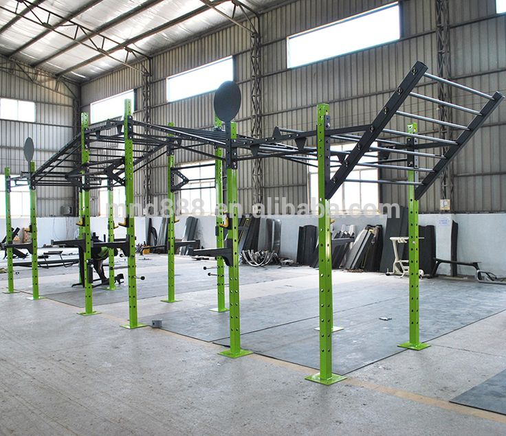 Commercial Fitness Equipment Free Training Customized Rack Crossfit Rigs C16 Climing Racks