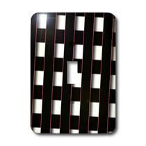 3dRose - Jos Fauxtographee Abstract - Black, White and Pink Weave of Art with Highlights Given to Edges and Layered