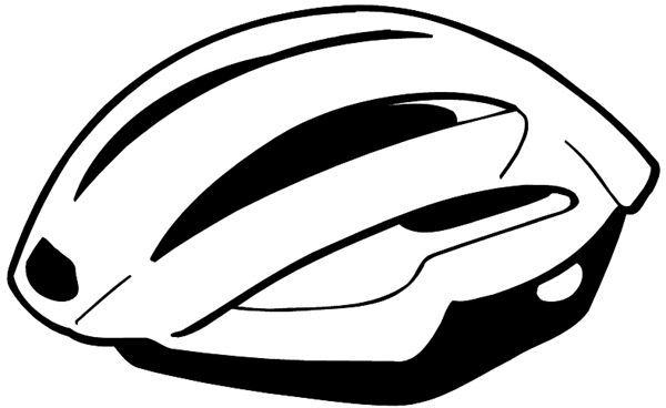 bicycle helmet colouring pages