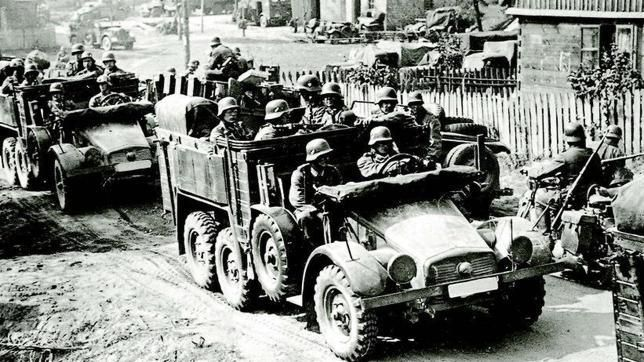 Alemania invade Polonia sin previa declaración de guerra