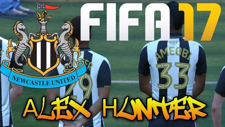 [# 22] Gameplay : FIFA 17 - The Hourney - Alex Hunter -  Newcastle vs Ip...