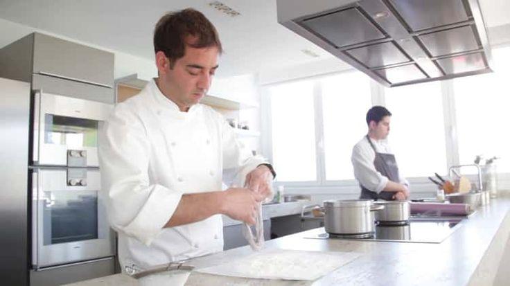 Nahas. Diseño artesano para la alta gastronomía. Vajilla para el restaurante Akelarre