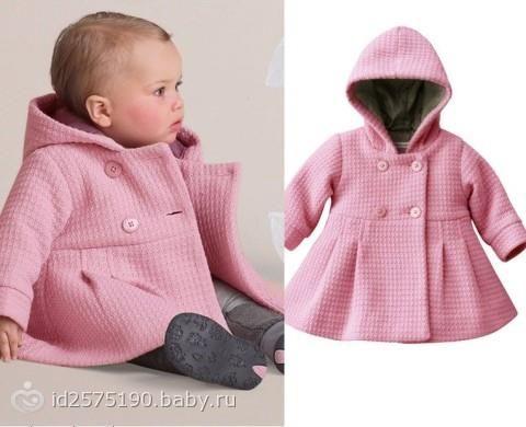 Модные выкройки детского пальто