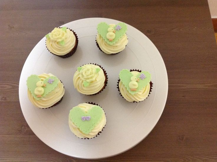 My Easter cupcakes