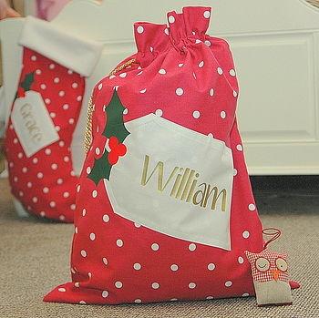 cute Santa Sack