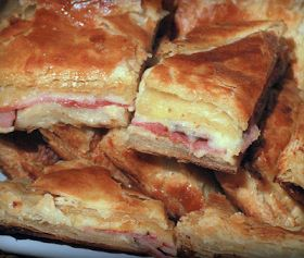 Cooking Pinterest: Ham & Cheese Puff Pastry Recipe